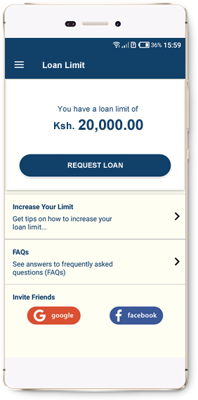 Mobile Loan App, get a quick loan to your phone via M-Pesa