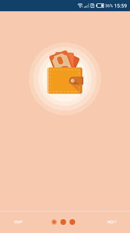 Quick loan app screen