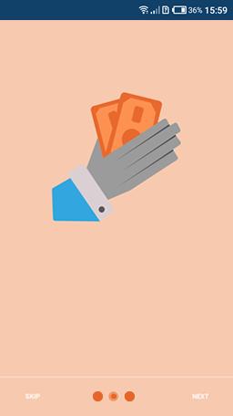Loan Processing app screen